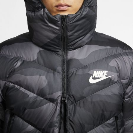 Pánská bunda - Nike NSW DWN FILL WR JKT HD AOP M - 6