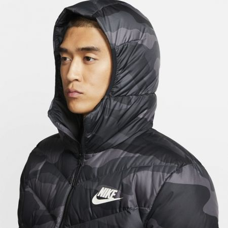Pánská bunda - Nike NSW DWN FILL WR JKT HD AOP M - 5