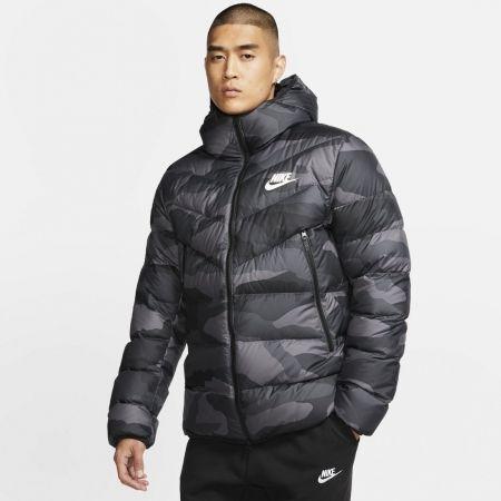 Pánská bunda - Nike NSW DWN FILL WR JKT HD AOP M - 3