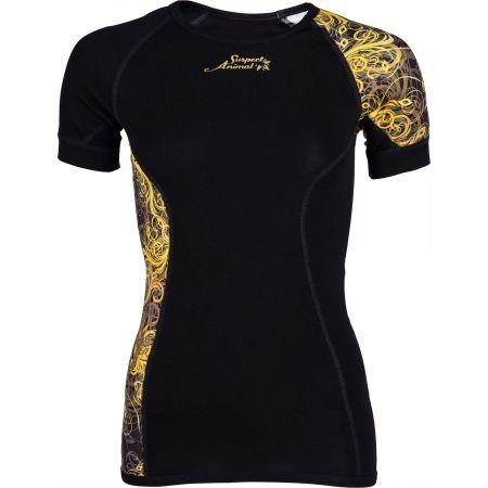 Dámske funkčné tričko - Suspect Animal GOLD ELEGANT - 1