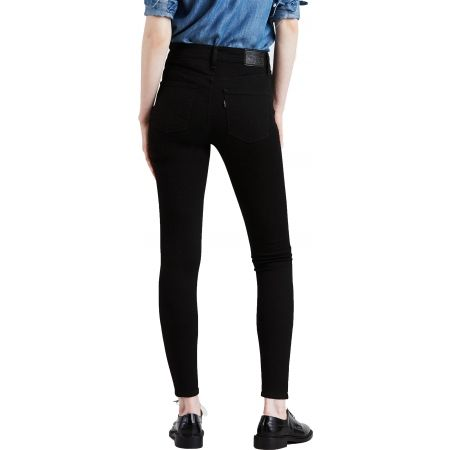Women's jeans - Levi's SHAPING SUPER SKINNY BLACK GALAXY - 3