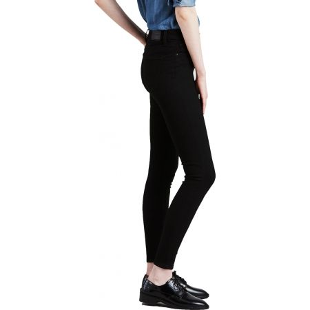 Women's jeans - Levi's SHAPING SUPER SKINNY BLACK GALAXY - 2