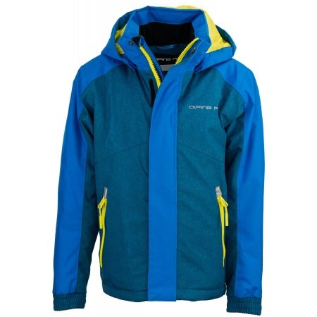 ALPINE PRO CHOCO - Boys' ski jacket