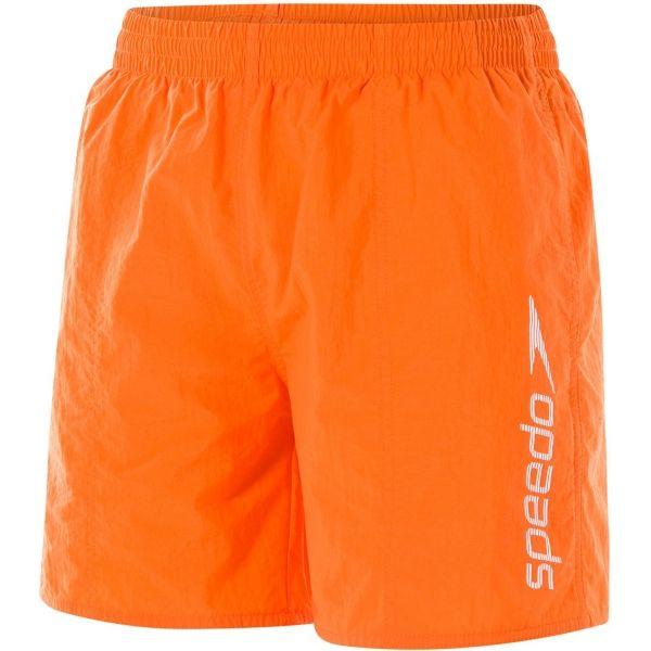 Speedo SCOPE 16 WATERSHORT oranžová XL - Pánské plavecké šortky