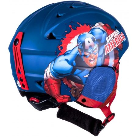 Dětská lyžařská helma - Disney CAPTAIN AMERICA - 5