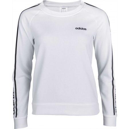 Dámska mikina - adidas WHITE HOODY - 1