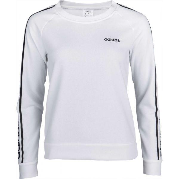 adidas WHITE HOODY bílá XL - Dámská mikina