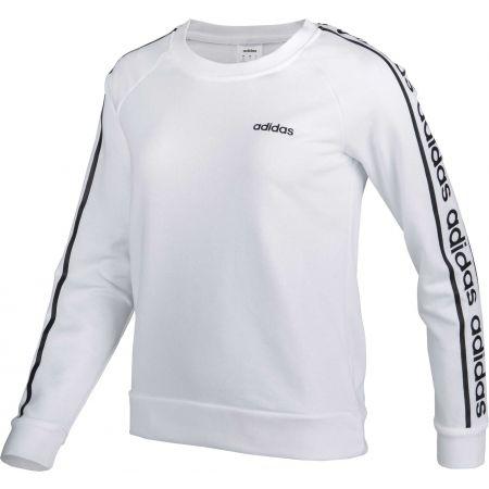 Dámska mikina - adidas WHITE HOODY - 2