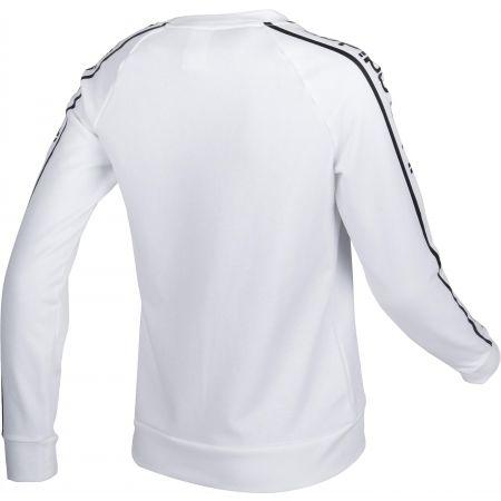 Dámska mikina - adidas WHITE HOODY - 3