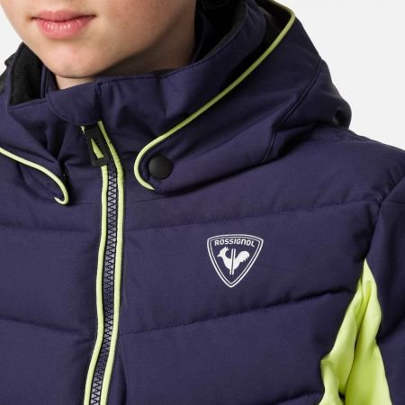 Dívčí lyžařská bunda - Rossignol GIRL POLYDOWN JKT - 5