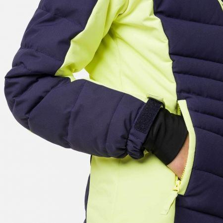Dívčí lyžařská bunda - Rossignol GIRL POLYDOWN JKT - 6