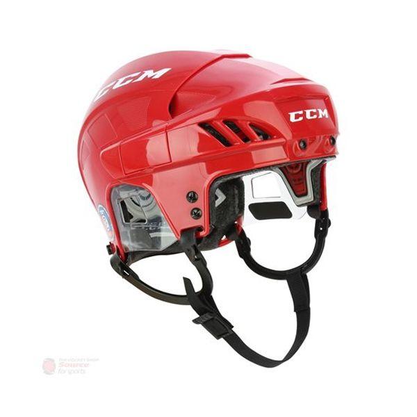 CCM FITLITE 60 SR červená S - Hokejová helma