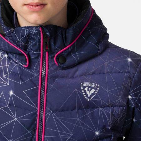 Dievčenská lyžiarska bunda - Rossignol GIRL POLYDOWN PR JKT - 5