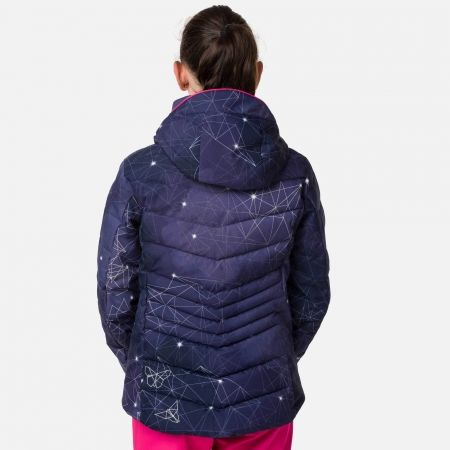 Dievčenská lyžiarska bunda - Rossignol GIRL POLYDOWN PR JKT - 3