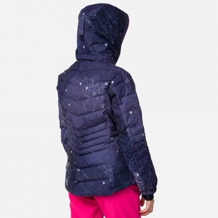 Dievčenská lyžiarska bunda - Rossignol GIRL POLYDOWN PR JKT - 4