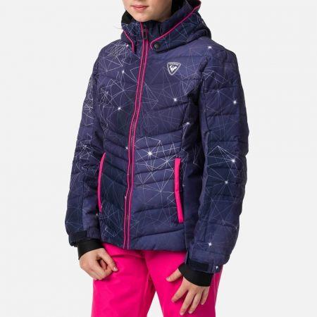 Dievčenská lyžiarska bunda - Rossignol GIRL POLYDOWN PR JKT - 2