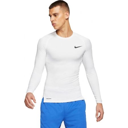 Men's long sleeve T-shirt - Nike NP TOP LS TIGHT M - 1