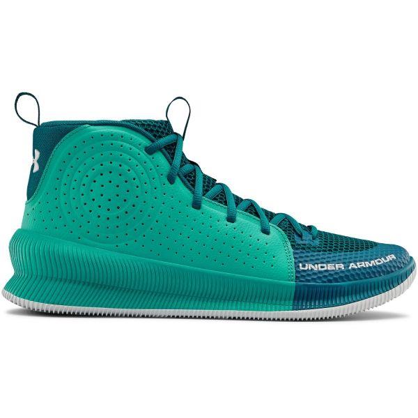 Under Armour JET modrá 11 - Pánská basketbalová obuv