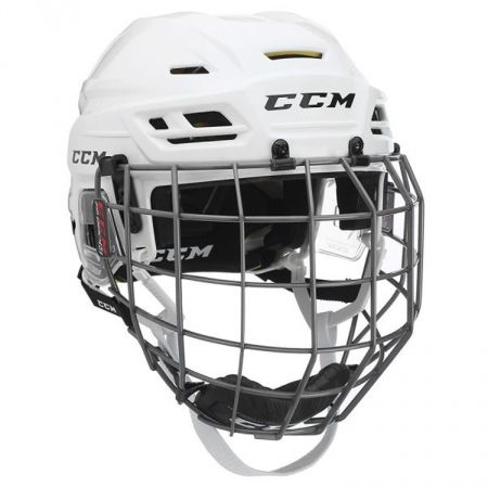 CCM TACKS 310C SR COMBO - Kask hokejowy