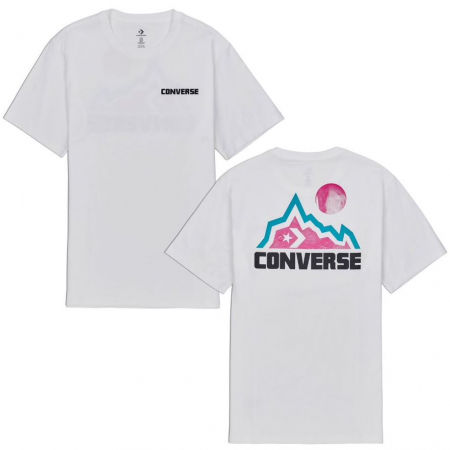Converse MOUNTAIN MOON GRAPHIC SHORT SLEEVE T-SHIRT - Мъжка тениска