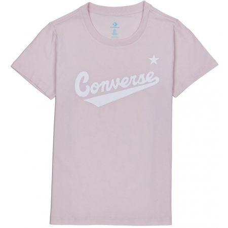 Converse WOMENS NOVA CENTER FRONT LOGO TEE - Dámske tričko
