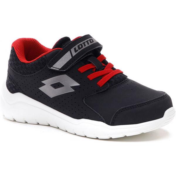 Lotto SPACERUN IX CL SL čierna 32 - Detská obuv na voľný čas