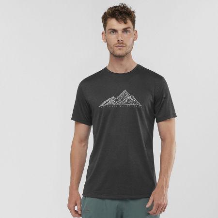 Pánske tričko - Salomon AGILE GRAPHIC TEE M - 4