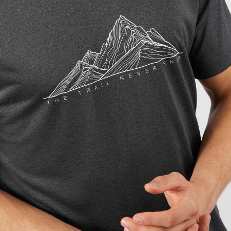 Pánske tričko - Salomon AGILE GRAPHIC TEE M - 7