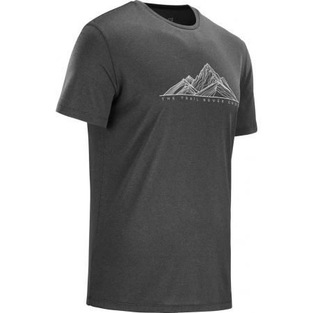 Pánske tričko - Salomon AGILE GRAPHIC TEE M - 2