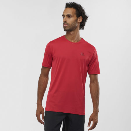 Мъжка тениска - Salomon AGILE TRAINING TEE M - 2