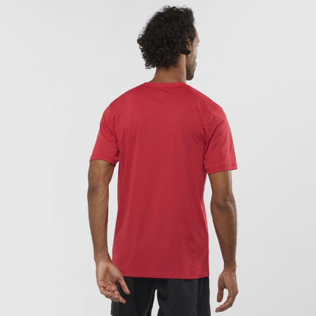 Мъжка тениска - Salomon AGILE TRAINING TEE M - 3