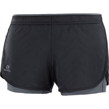 Salomon AGILE 2IN1 SHORT W - Damenshorts