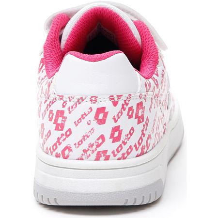 Lányos szabadidő cipő - Lotto BASKETLOW AMF II LOGO CL SL - 5