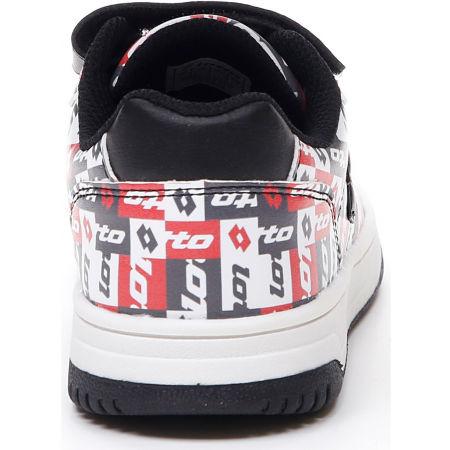 Pantofi de timp liber pentru juniori - Lotto BASKETLOW AMF II PATCHOWRK CL SL - 7