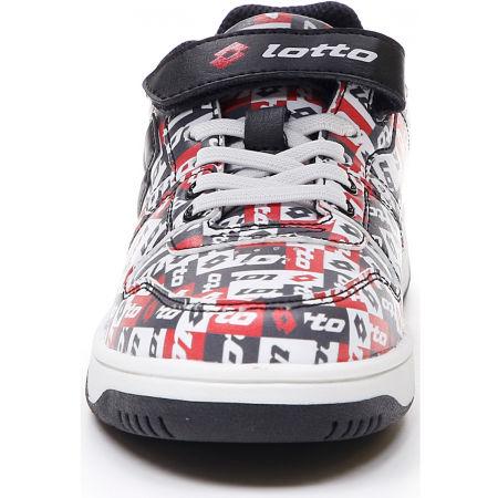 Pantofi de timp liber pentru juniori - Lotto BASKETLOW AMF II PATCHOWRK CL SL - 6