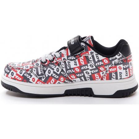 Pantofi de timp liber pentru juniori - Lotto BASKETLOW AMF II PATCHOWRK CL SL - 3