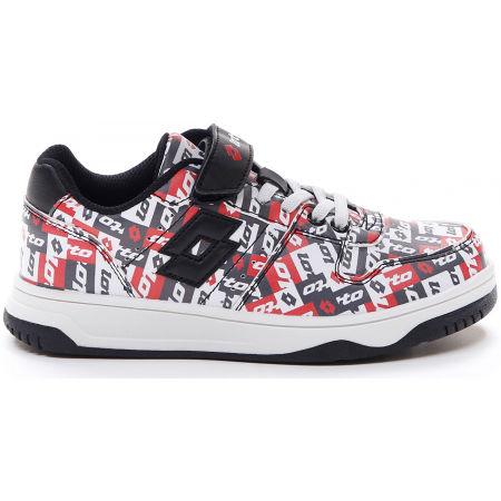 Pantofi de timp liber pentru juniori - Lotto BASKETLOW AMF II PATCHOWRK CL SL - 2