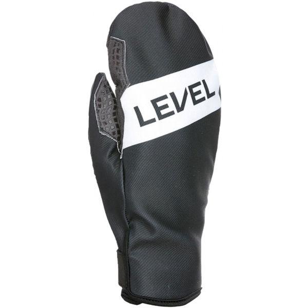 Level WEB MITT šedá 8 - Pánské lyžařské rukavice