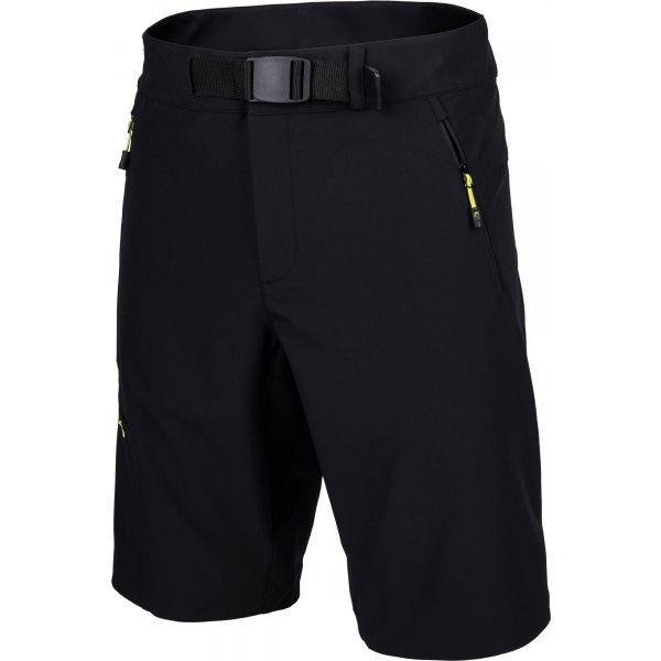 Head MALEC čierna XXL - Pánske šortky
