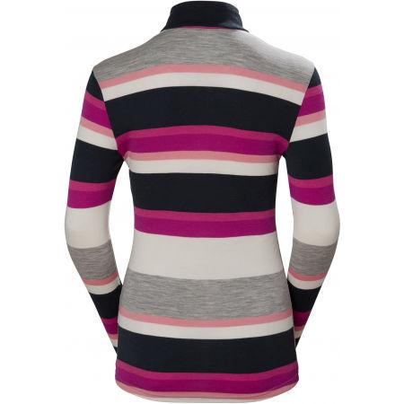 Дамска блуза - Helly Hansen MERINO MID GRAPHIC 1/2 ZIP W - 2