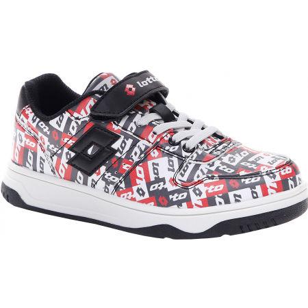Pantofi de timp liber pentru juniori - Lotto BASKETLOW AMF II PATCHOWRK CL SL - 1