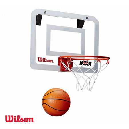 Mini basketbalový set - Wilson NCAA SHOWCASE MINI HOOP - 1