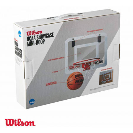 Mini basketbalový set - Wilson NCAA SHOWCASE MINI HOOP - 3