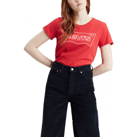 Women's T-shirt - Levi's THE PERFECT TEE HSMK OUTLINE - 1
