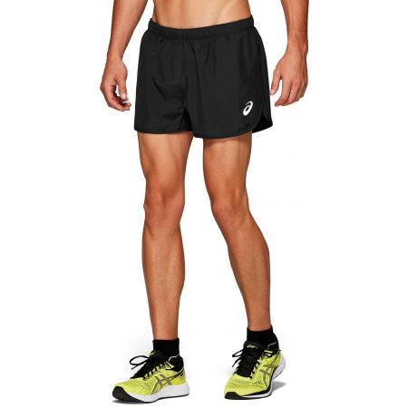 Мъжки къси панталони за бягане - Asics SILVER SPLIT SHORT - 1
