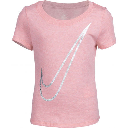 Nike NSW TEE SCOOP SHENE SWOOSH G - Girls' T-shirt
