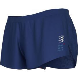 Compressport RACING SPLIT SHORT M - Men's running shorts