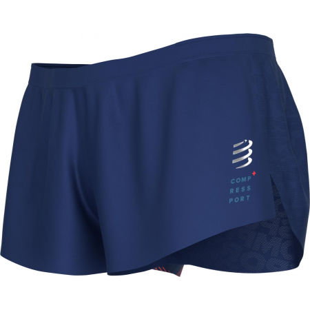 Men's running shorts - Compressport RACING SPLIT SHORT M - 1