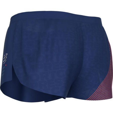 Men's running shorts - Compressport RACING SPLIT SHORT M - 7