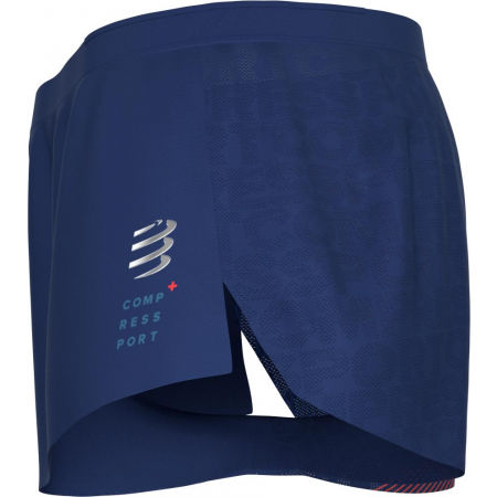 Men's running shorts - Compressport RACING SPLIT SHORT M - 8
